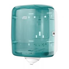 Tork Reflex Single Sheet Centrefeed Dispenser Turquoise Janitorial Supplies