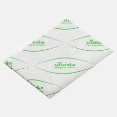 Vileda MicronSolo Single Use Microfibre Wipes Green Janitorial Supplies