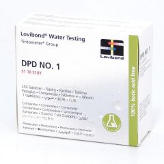 Lovibond DPD1 Standard Test Tube Tabs 250 Tablets Janitorial Supplies