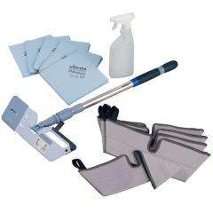 Vileda Interior Cleaning Mini Kit Janitorial Supplies