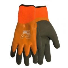 Watertite Thermal Latex Grip Gloves Size 9 Large Janitorial Supplies