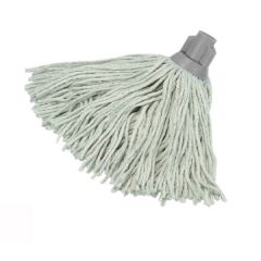 Socket Mop Head PY 16oz Grey Janitorial Supplies