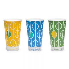 Compostable Hula Paper Cups 12oz 355ml Janitorial Supplies