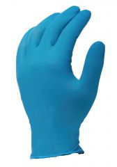 Nitrile Powder Free Gloves Medium Blue Janitorial Supplies