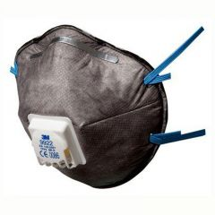 3M Speciality FFP2 Disposable Valved Respirator Mask Janitorial Supplies