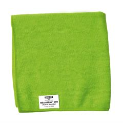 Unger Green Microfibre Micro Wipe Cloth Janitorial Supplies