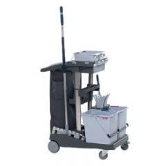 Vileda VoleoPro Ready To Go Trolley Kit Janitorial Supplies