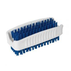 Janilec Double Sided Nail Brush Blue Janitorial Supplies