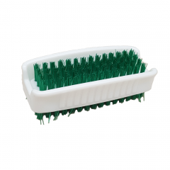 Janilec Double Sided Nail Brush Green Janitorial Supplies