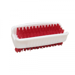 Janilec Double Sided Nail Brush Red Janitorial Supplies