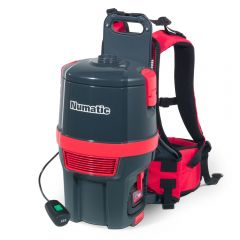 Numatic RSB150 1NX Commercial Backpack Battery Vacuum Cleaner 5 Litres 36v Janitorial Supplies