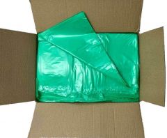 Classic Wheelie Bin Liners Green Janitorial Supplies