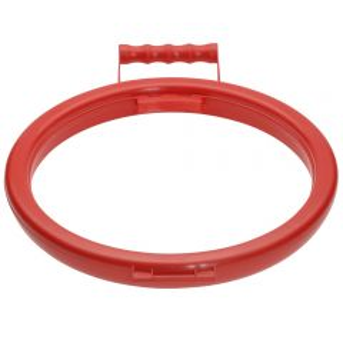 Janilec Litter Picking Bag Hoop Red Janitorial Supplies