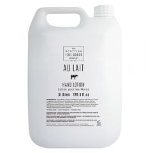Au Lait Creamy Hand Lotion 5 Litre Janitorial Supplies