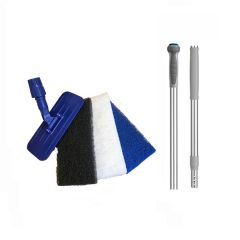 Doodlebug Telescopic Floor Cleaning Tool Kit Janitorial Supplies