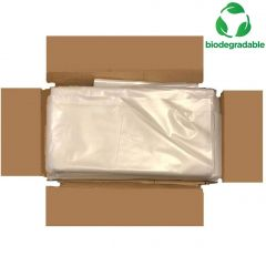 Biodegradable Refuse Sacks Clear Janitorial Supplies