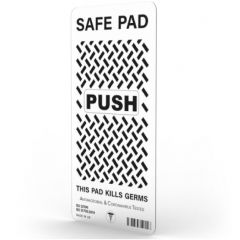 Safe Pad Antibacterial 20cm Push Pad Clear Janitorial Supplies