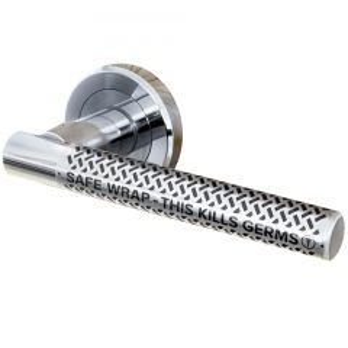 Safe Wrap Antibacterial Door Handle Wrap Clear Janitorial Supplies