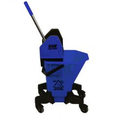 SYR Long Tall Sally Mop Bucket & Wringer Blue Janitorial Supplies