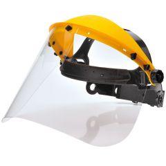 Janilec Faceshield Browguard with Clear Visor Janitorial Supplies