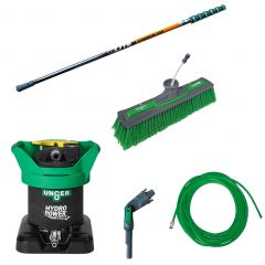 Unger HydroPower Ultra S + nLite Carbon 24K Pole 9m Janitorial Supplies