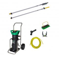 Unger HydroPower Ultra LC + nLite Connect Aluminium Pole 9m Janitorial Supplies