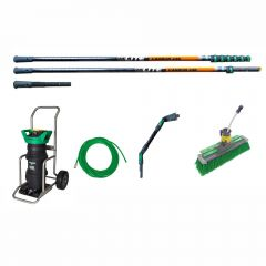 Unger HydroPower Ultra LC + nLite Carbon 24K Pole 12m Janitorial Supplies