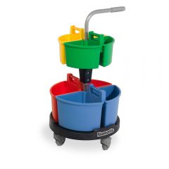 Numatic NC4R Carousel lift-off Caddy Trolley Janitorial Supplies
