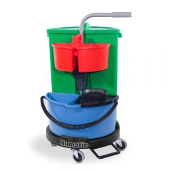 Numatic NC1R Carousel Lift-off Caddy Mop and Waste Trolley Janitorial Supplies