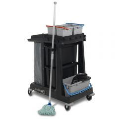 Numatic ECO-Matic EM2 Cleaning Trolley with Twist Mop Janitorial Supplies