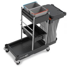 Numatic SERVO-Matic SM1705 Cleaning Trolley Janitorial Supplies