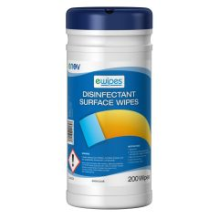 Surface Disinfectant Wet Wipes Canister Janitorial Supplies