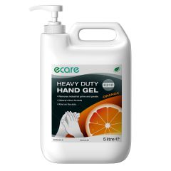 Enov E210 Orange Pumice Hand Gel Heavy Duty 5 Litre Janitorial Supplies