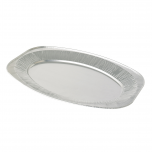 22 Inch Oval Foil Platters Janitorial Supplies