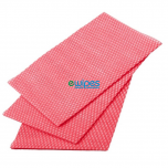 Red Viscose Wipes Janitorial Supplies