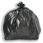 Black Square Bin Liners Janitorial Supplies