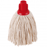 Red PY 12 Socket Mop Head Janitorial Supplies