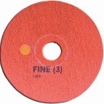Super Shine Floor Pad System Fine 15 Inch Red Janitorial Supplies