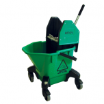 TC20 Kentucky Bucket & Wringer 20 Litre Green Janitorial Supplies