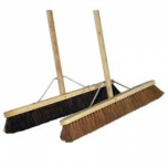 36 Inch  Complete Wooden Broom  Soft Janitorial Supplies