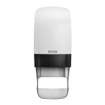 Katrin Inclusive System Toilet Dispenser W White with Core Catcher Janitorial Supplies