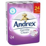 Andrex Gentle Clean Toilet Tissue White Janitorial Supplies