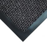 Coba Vyna-Plush Entrance Barrier Doormat Grey 0.9m x 1.5m Janitorial Supplies