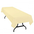 Swansoft Devon Cream Tablecovers 120x120cm Janitorial Supplies