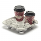 Chinet Take away 4 Cup Carrier Janitorial Supplies