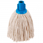 Blue PY 12oz Socket Mop Head Janitorial Supplies