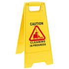Floor Safety Sign CLEANING in PROGRESS Janitorial Supplies