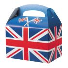 Meal Boxes Union Jack Flag Design Janitorial Supplies