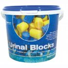 Blue Urinal Channel Blocks 3Kg Janitorial Supplies