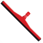 "Floor Squeegee Plastic Red 18"" 45cm Janitorial Supplies"